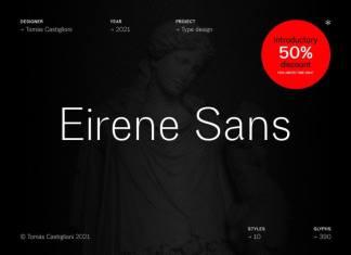 Eirene Sans Font Family