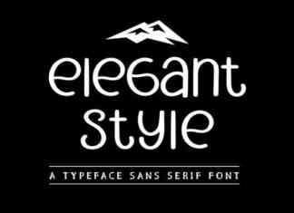Elegant Style Font