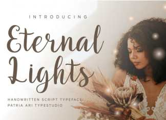 Eternal Lights Script Font