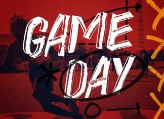 Game Day Brush Font