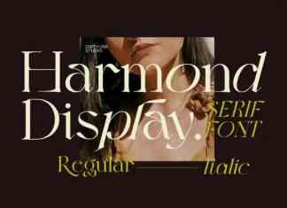 Harmond Serif Font