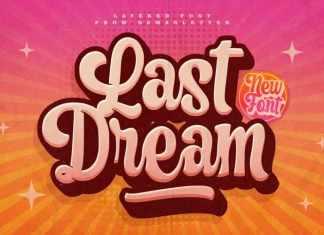 Last Dream Script Font