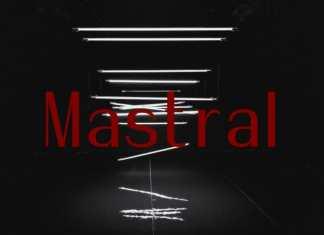 Mastral Sans Serif Font