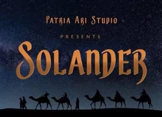Solander Display Font