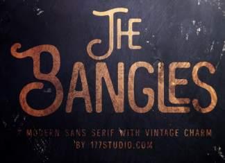 The Bangles - Vintage Font