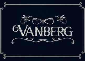 Vanberg Display Font