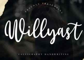 Willyast Calligraphy Font