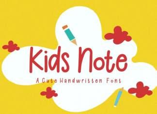 Kids Note - Playful Font
