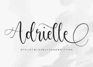 Adrielle Handwritting Font