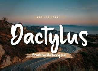 Dactylus Script Font