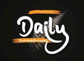 Daily Script Font