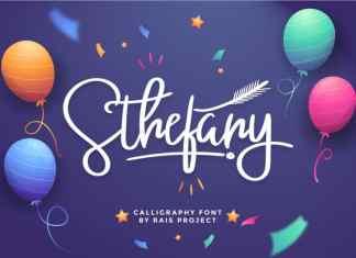Sthefany Script Font