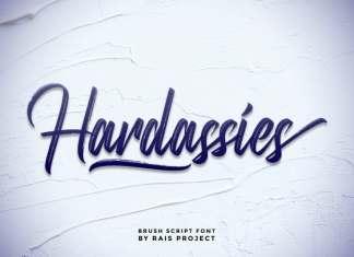 Hardassies Script Font