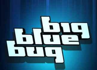 Big Blue Bug Display Font