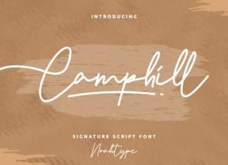 Camphill Handwritten Font