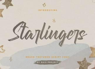Starlingers Brush Font
