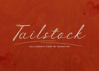 Tailstock Script Font