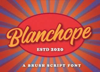 Blanchope Script Font