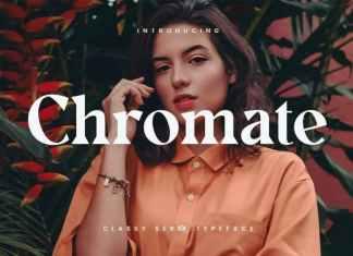 Chromate Serif Font