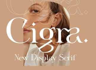 Cigra Serif Font