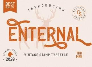 Enternal Display Font
