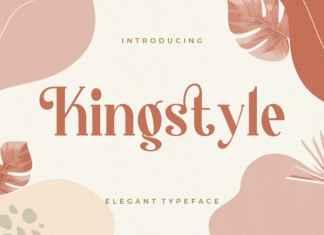 Kingstyle Serif Font