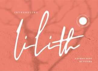 Lilith Handwritten Font