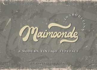 Maimoonde Bold Script Font