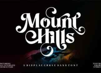 Mount Hills Serif Font