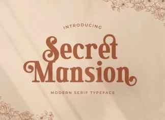 Secret Mansion Serif Font