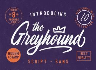 The Greyhound Script Font