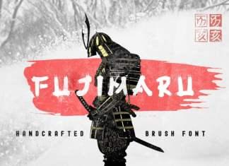 Fujimaru Brush Font