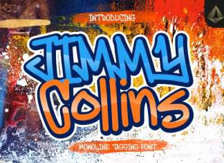 Jimmy Collins Display Font
