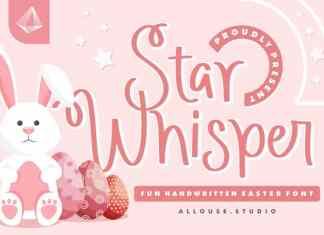 Star Whisper Script Font