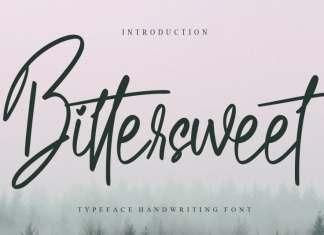 Bittersweet Script Font