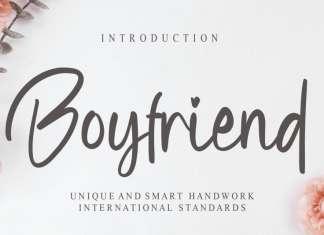 Boyfriend Script Font