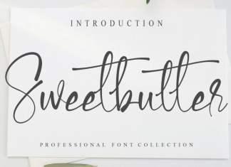Sweetbutter Script Font