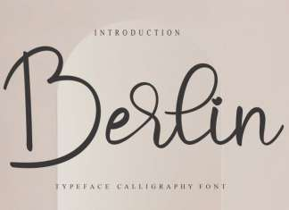 Berlin Script Font