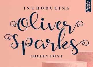 Oliver Sparks Script Font