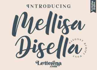 Mellisa Disella Font