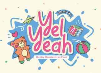 Yel Yeah Display Font