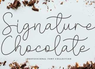 Signature Chocolate Script Font