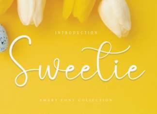 Sweetie Calligraphy Font