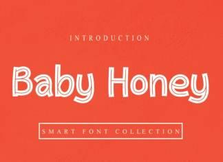 Baby Honey Display Font