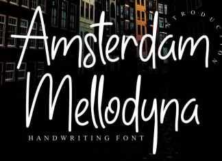 Amsterdam Mellodyna Handwritten Font