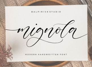 Mignola Calligraphy Font