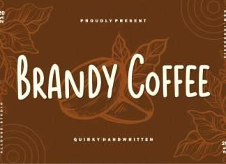 Brandy Coffee Handwritten Font