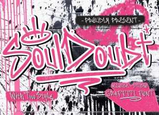 Soul Doubt Display Font