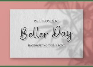 Better Day Script Font