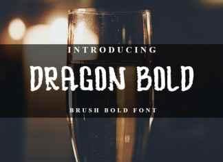 DRAGOON BOLD Display Font